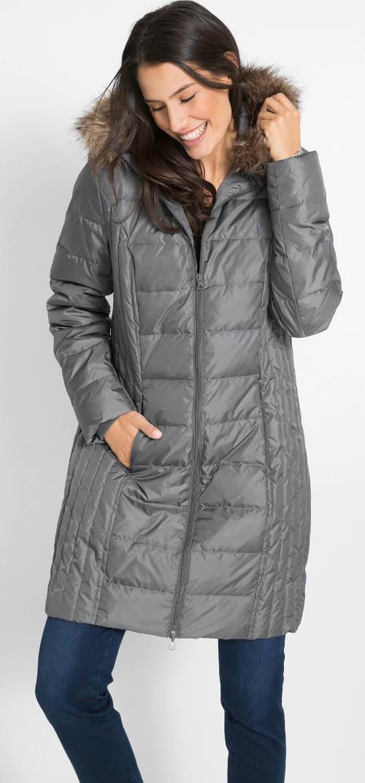 Lehký prošívaný péřový kabát