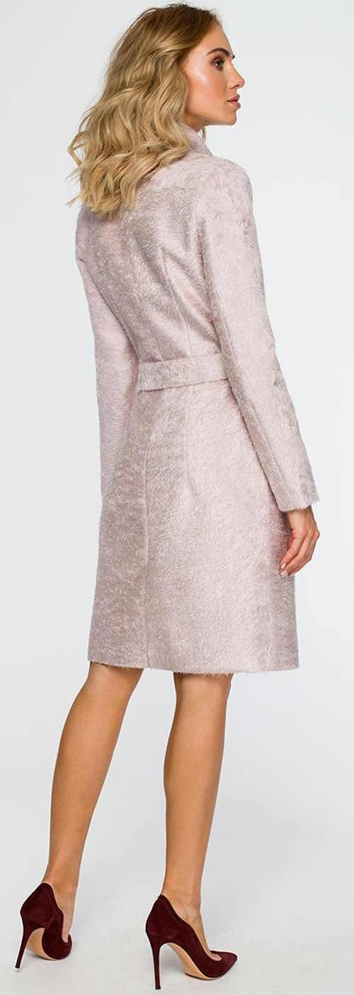 Lososový dámský kabátek