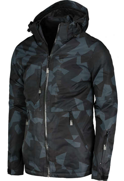 Pánská lyžařská bunda s množstvím kapes