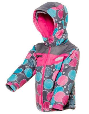 Barevná dívčí zimní bunda Pidilidi PD1048-01