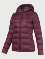Fialová dámská zimní bunda Puma