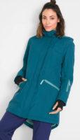 Funkční dlouhá dámská outdoor bunda