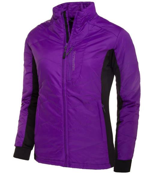 Levná fialová dámská bunda na lyže
