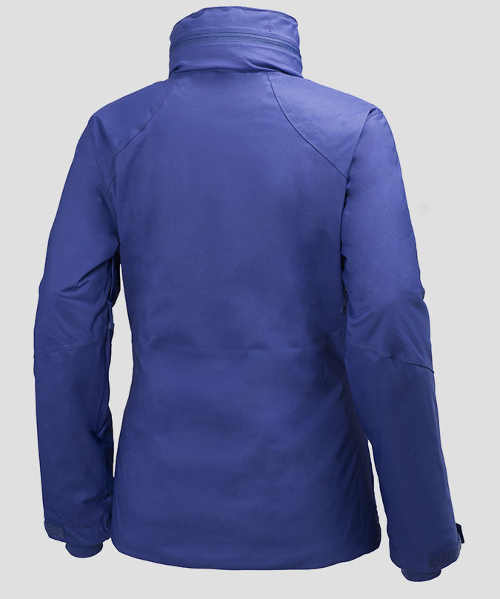 Modrá lyžařská dámská zimní bunda výprodej