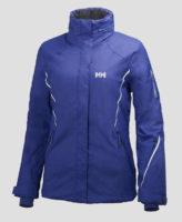 Modrá sportovní zimní bunda Helly Hansen W SHINE JACKET