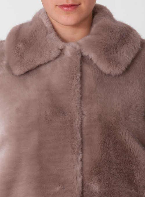 Společenský dámský zimní kabát