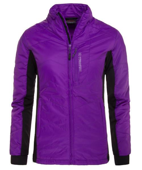 Zářivě fialová dámská zimní bunda TRIMM BREEZA