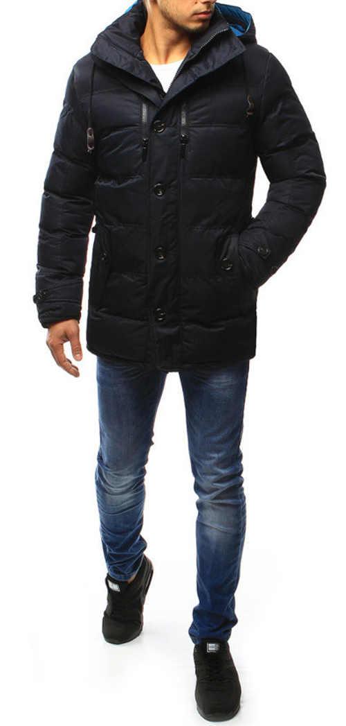 Elegantní a levná pánská zimní bunda