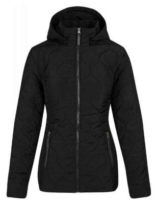 Černá funkční dámská zimní bunda Loap