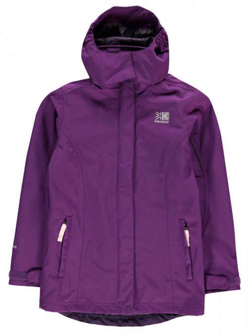 Dětská outdoorová fleecová bunda