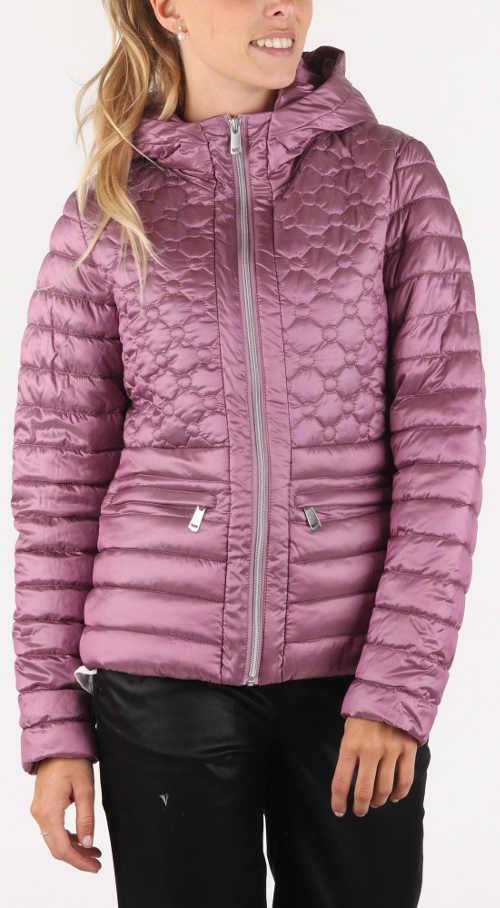 Fialovo-růžová zimní bunda Bunda GAS Glennie