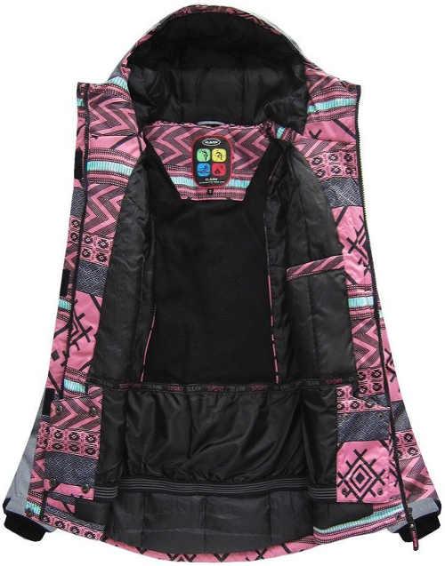 Kvalitní dámská zimní bunda s voděodolnou membránou