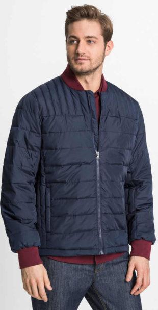Pánská prošívaná bunda s elastickými lemy