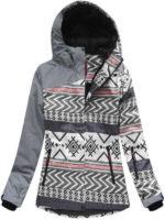Velmi kvalitní zimní bunda s prodyšnou a voděodolnou membránou