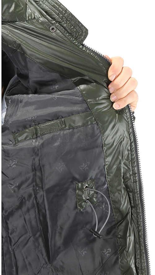 Khaki outdoorová bunda výprodej