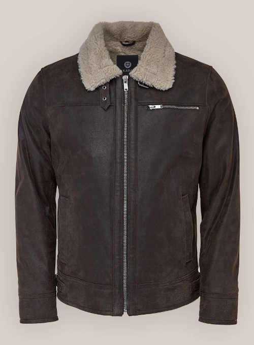 Česká kožená pánská zimní bunda