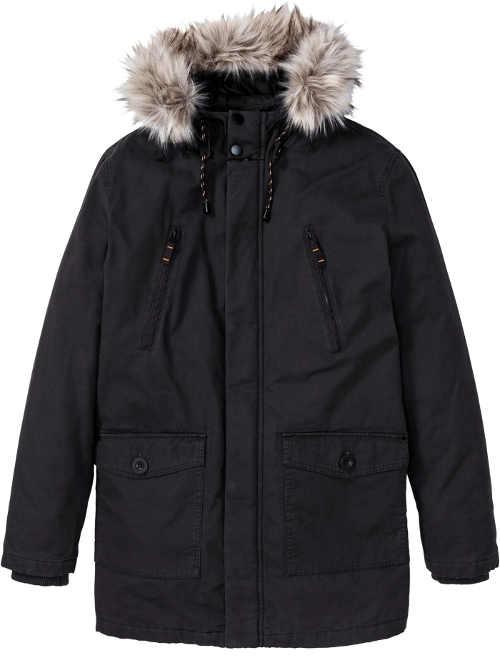 Další černá pánská zimní bunda