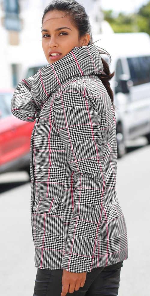 Dámská zimní bunda Blancheporte pro ženy plnějších tvarů