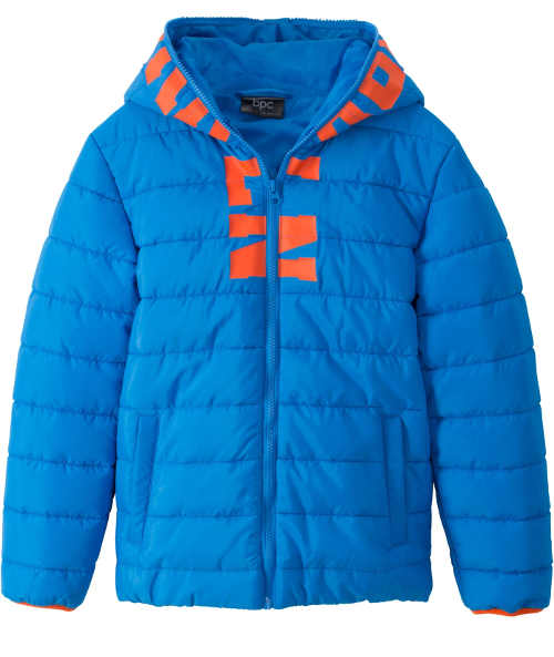 Modrá dětská zimní bunda Bonprix