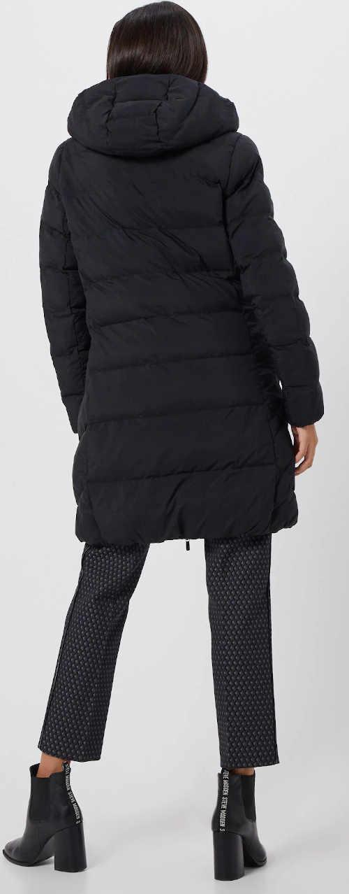 Hřejivý prodloužený zimní kabát