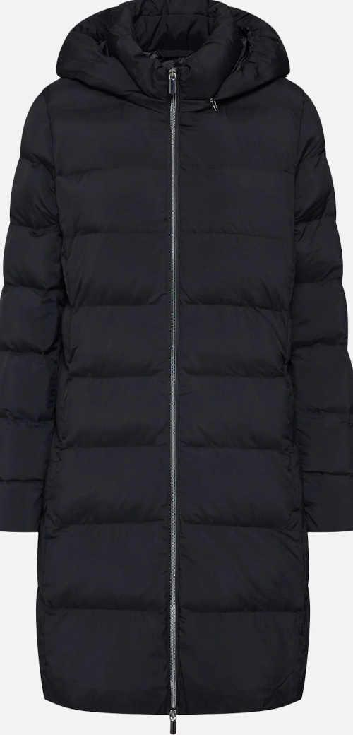 Teplý zimní  kabát s kapucí