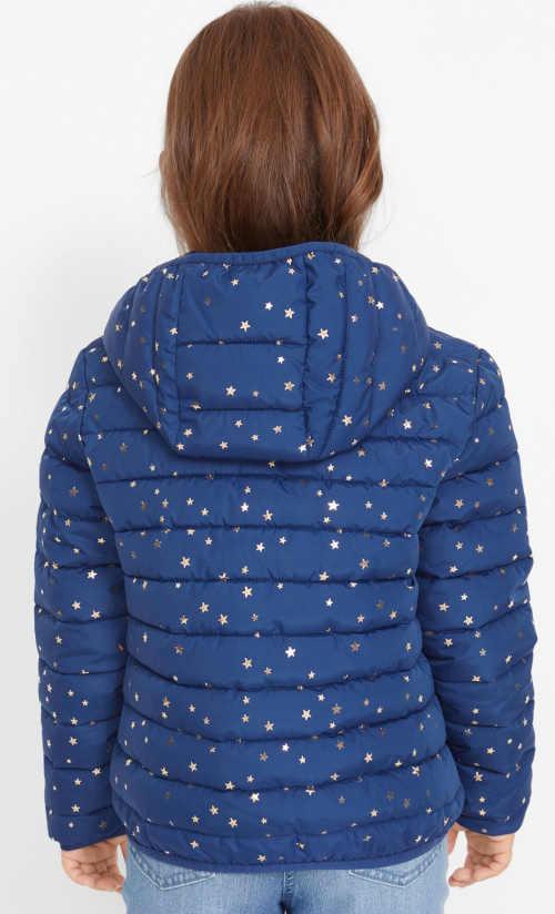Zimní bunda pro děti s kapucí