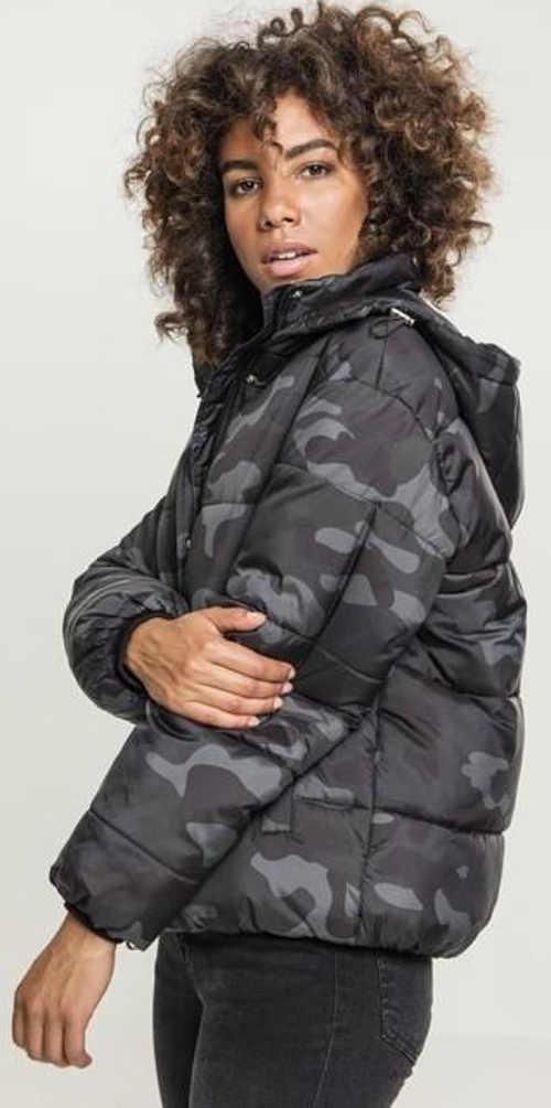 Dámská šedá vojenská zimní bunda