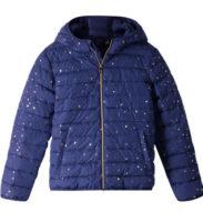 Dětská modrá prošívaná bunda