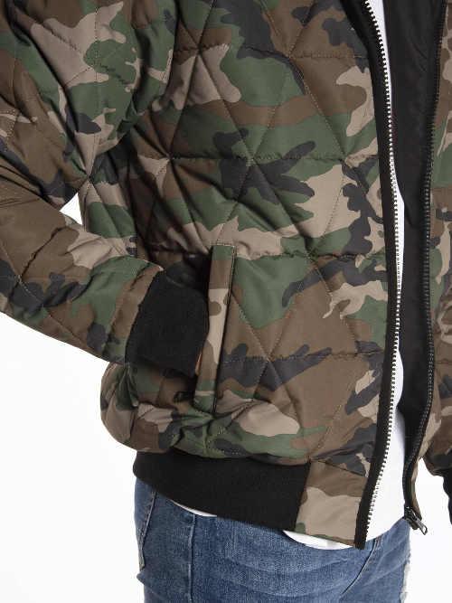 Levná pánská army zimní bunda