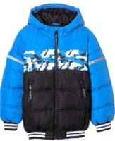 Modro-černá zimní bunda pro kluky