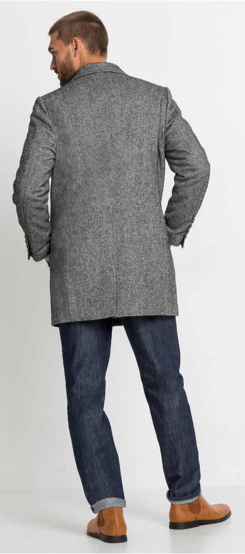Pánský kabát k džínám