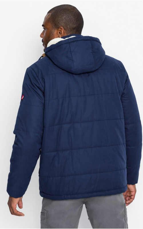 Prošívaná pánská zimní bunda Bonprix