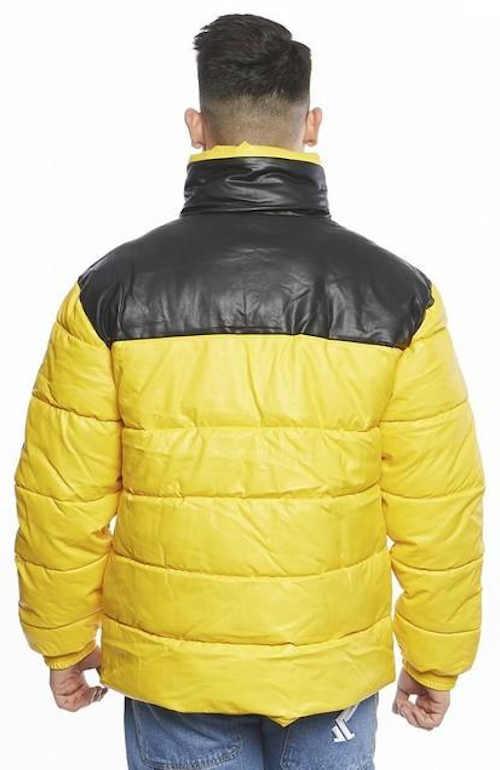 Pánská prošívaná péřová bunda