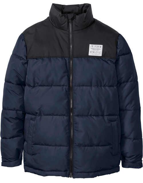 modro-cerna-panska-zimni-prosivana-bunda