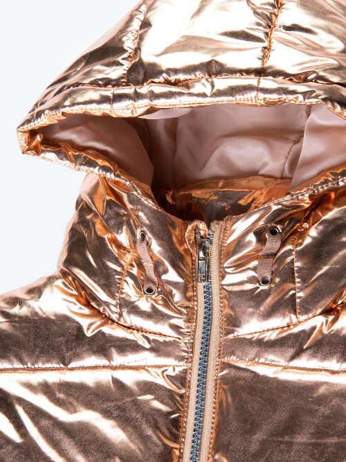 Kovová dětská zimní bunda