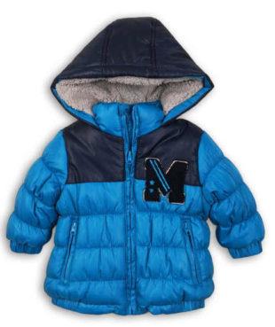 Tyrkysová kojenecká zimní bunda