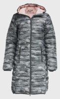 Dámský prošívaný kabát na zimu s kapucí Alpine Pro