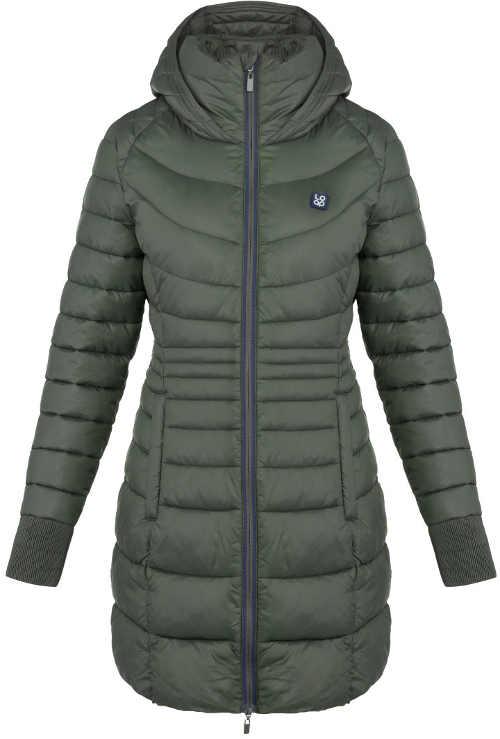 Stylový dámský prošívaný kabát na zimu do města i na hory
