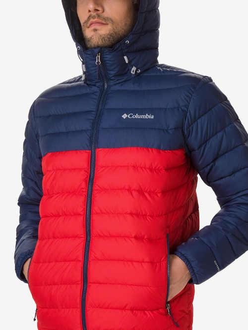 kvalitní pánská prošívaná zimní bunda