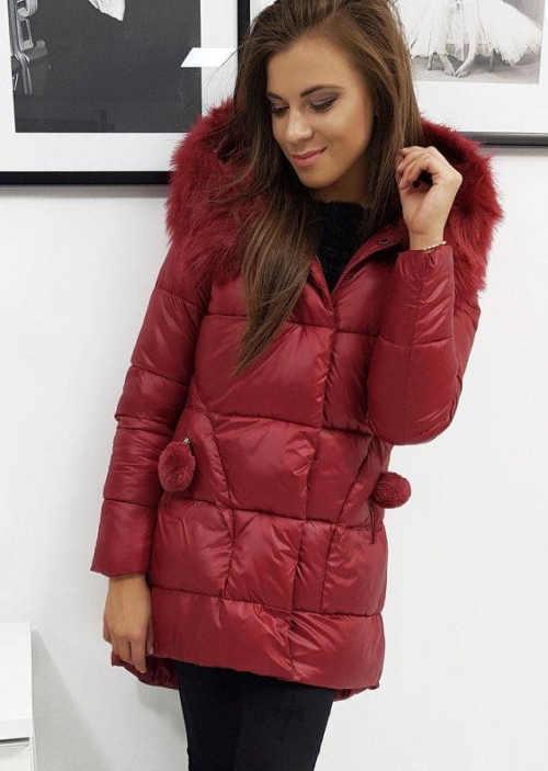 moderní prošívaná bunda na zimu pro dívky a ženy