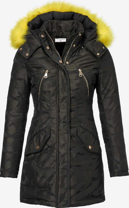 moderní prošívaná dámská bunda