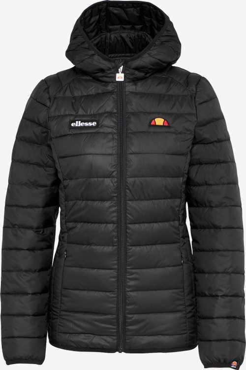 prošívaná dámská černá zimní bunda