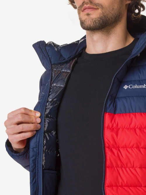 stylová zimní pánská bunda do pasu
