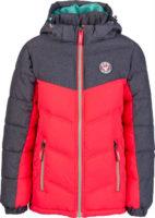 Dětská prošívaná zimní bunda s odnímatelnou kapucí