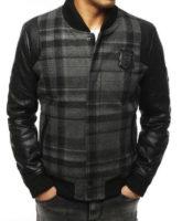 Stylová zimní pánská bunda do pasu z kvalitního materiálu