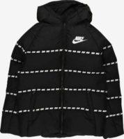 Černá dětská zimní bunda Nike