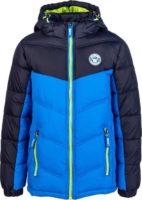 Dětská kvalitní prošívaná bunda s kapucí nejen na lyžování