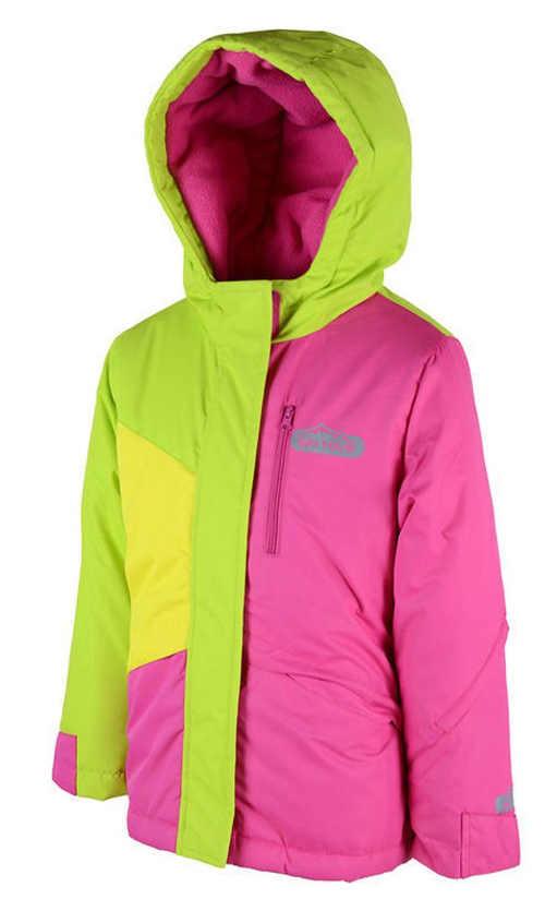 Dětská zimní lyžařská bunda z kvalitního a odolného materiálu