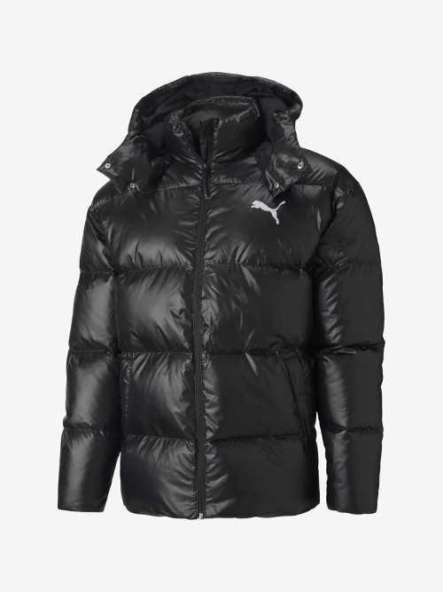 Pánská prošívaná bunda Puma s praktickou kapucí