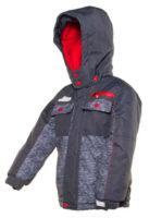 Praktický model chlapecké bundy na zimu do města i na hory